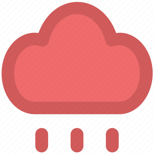 climate, cloud, meteorology, rain cloud, raining, weather, weather forecast icon
