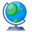 education, globe, knowledge, nature, research, science, universe icon