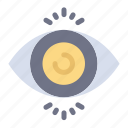 eye, science, search, test icon