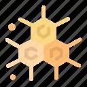 chemist, molecular, science icon