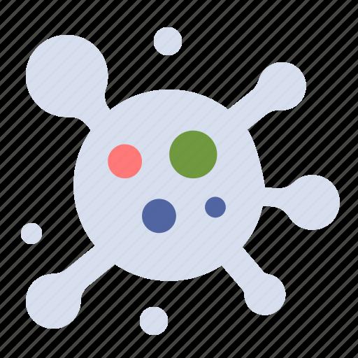 atom, molecule, science icon