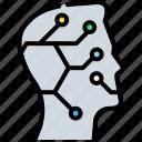 brain, brainstorm, creative mind, human brain, ideology, intelligent, mind control icon