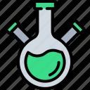 beaker, bottle, flask, jar, lab, science, scientist