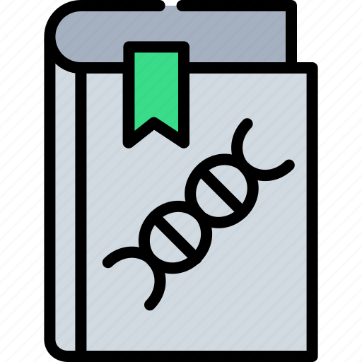book, education, information, laboratory, library, research, science icon