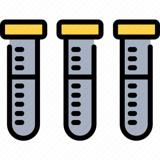 analyzing, blood, experiment, science, test tubes, tube, tubes icon