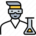 biotechnology, chemical, doctor, laboratory, professional, professor, scientist icon
