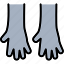 cleaning, cleaning gloves, gloves, handyman, protective gloves icon