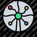 ball, electric, energy, fantasy, physics, plasma, science icon