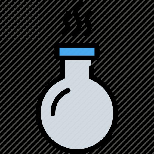 bottle, chemical, gas bottle, glass, liquor icon