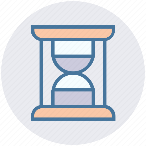 Processing, hourglass, egg timer, timer, sand timer icon