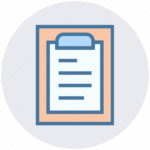 article, clipboard, file, list, molecule, notes, science article icon