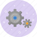 configuration, engine, gears, mechanism, optioms, settings, tools icon