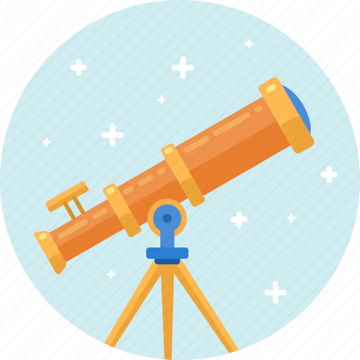 astronomy, cosmos, optical, science, space, technology, telescope icon