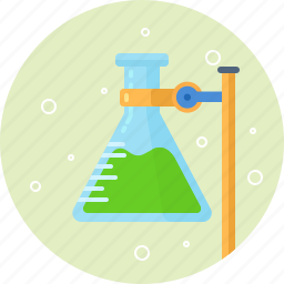 bulb, chemistry, education, flask, science, test, tube icon