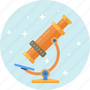 biology, lab, laboratory, microscope, research, science, technology icon