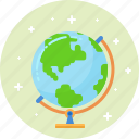 earth, geography, global, globe, planet, science, world icon