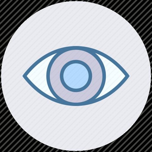 biology, eye, eyeball, lab, science, search, vision icon
