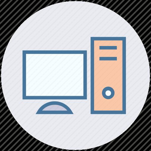 computer, cpu, desktop, lcd, monitor, pc, screen icon
