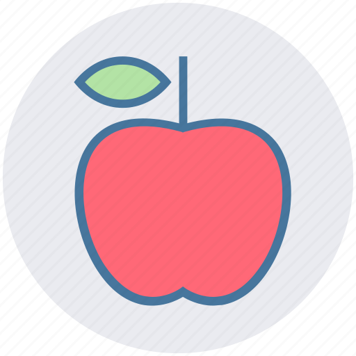Apple, diet, food, fruit, healthy fruit, organic icon - Download on Iconfinder