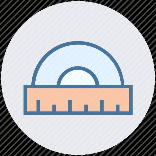 circular, design, draw, geometry, round, ruler, science icon