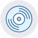 album, cd, disc, multimedia, science, storage icon