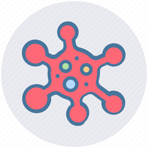 cells, cytoplasm, membrane, science, virus icon