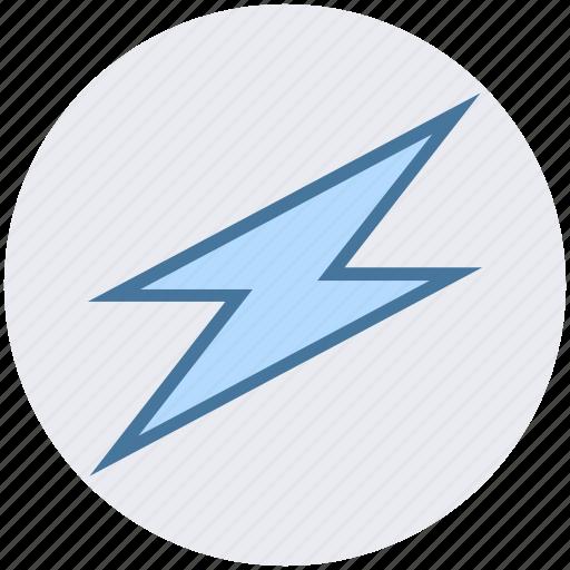 bolt, flash, lightning, science, thunder icon