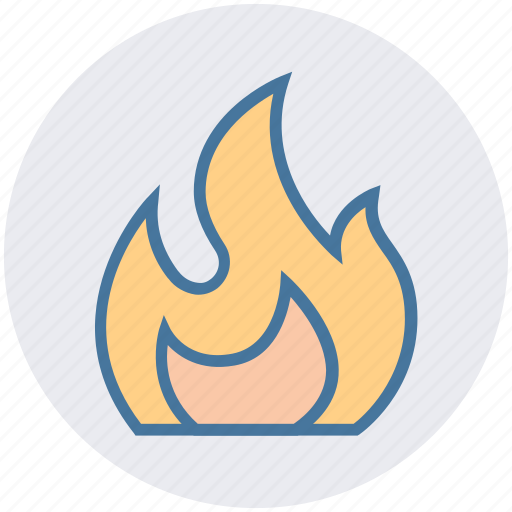 burning, fire, firing, flame, heat, hot, science icon