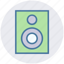 electronics, music, sound, speaker, subwoofer, woofer icon