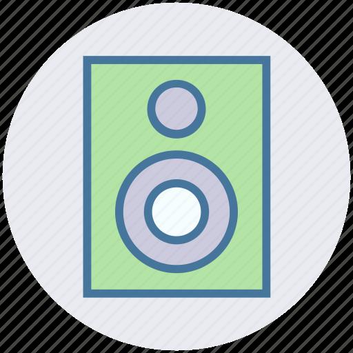 electronics, music, sound, speaker, subwoofer, woofer icon
