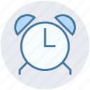 alarm, alarm clock, clock, morning, office, time icon