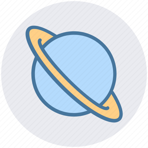 astronomy, galaxy, physics, planet, science, space, universe icon