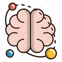 brain, brainstorming, science, system, thinking icon