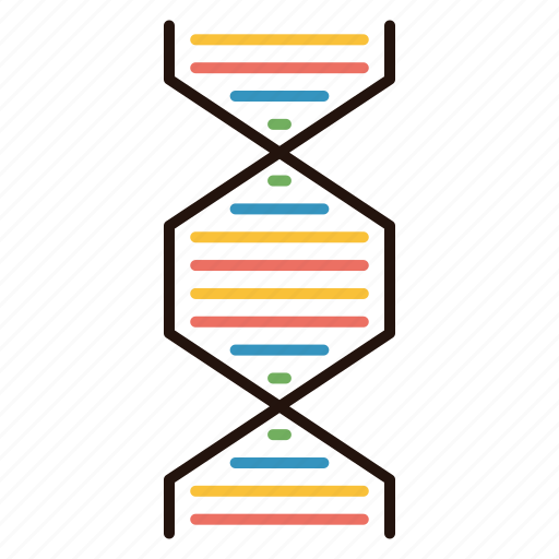 Acid, deoxyribonucleic, dna, science icon - Download on Iconfinder