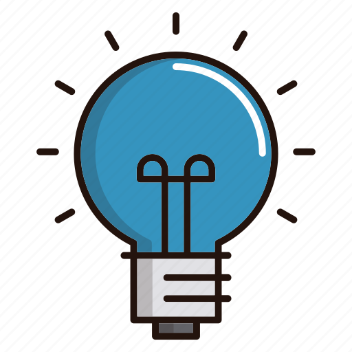 Bulb, electricity, idea, light, science icon - Download on Iconfinder