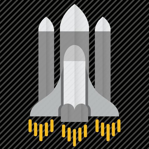 astronomy, rocket, science, spaceship, travel icon