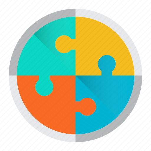 management, puzzle, science, solution, strategy icon