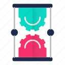 science, management, watch, hourglass, time