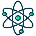atom, atomic, physics, science icon