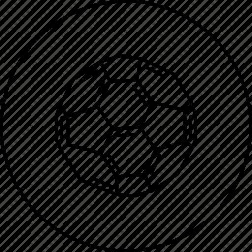 atom, ball, buckyball, fullerene, hexagon, molecule icon