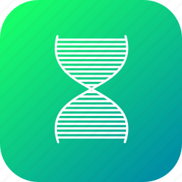 biopolymer, dna, genetic, life, molecule, science, waves icon
