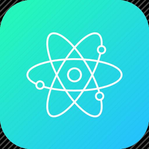atom, electromagnatic, electron, molecule, nutron, proton, wave icon