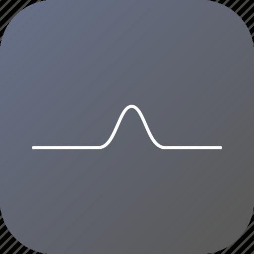 electric, line, pulse, resist, resistance, wave icon