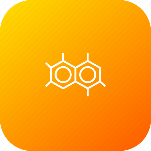 atom, hexagon, molecule, polymer, science, structure icon
