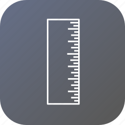 foot, measure, rule, ruler, scale, science icon