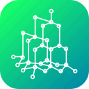 atom, model, molecule, science, sphatik, structure icon