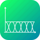 cosine, electroid, science, sine, tangent, wave, waves icon
