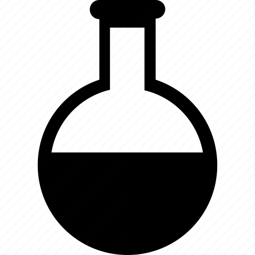 beaker, chemical, flask, laboratory, science icon