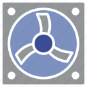 electric, electricity, exhaust, fan, turbine icon