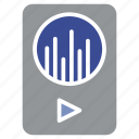 instrument, mp3, multimedia, music, player icon